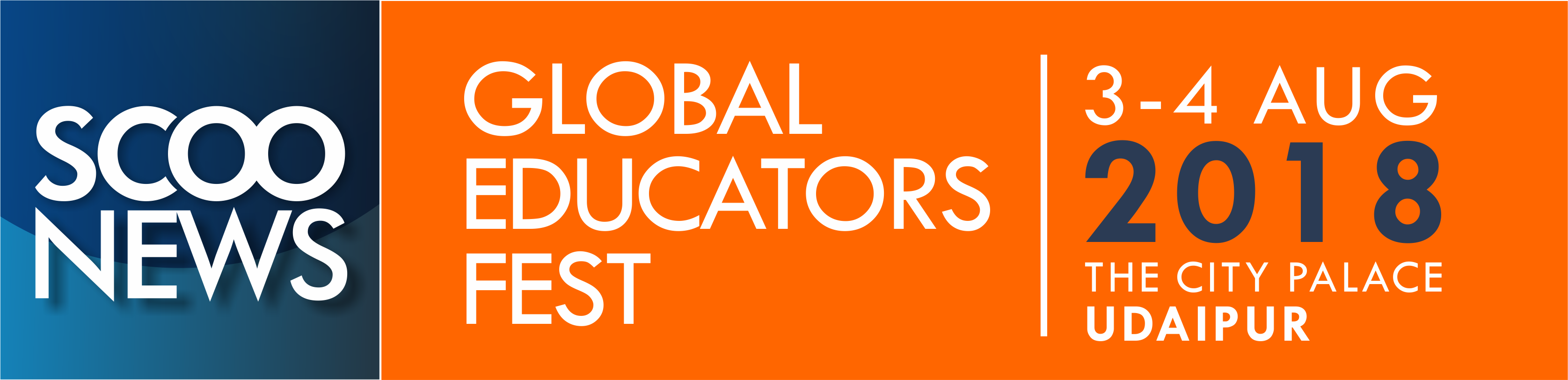 Logo ScooNews Global Educators Fest 2018