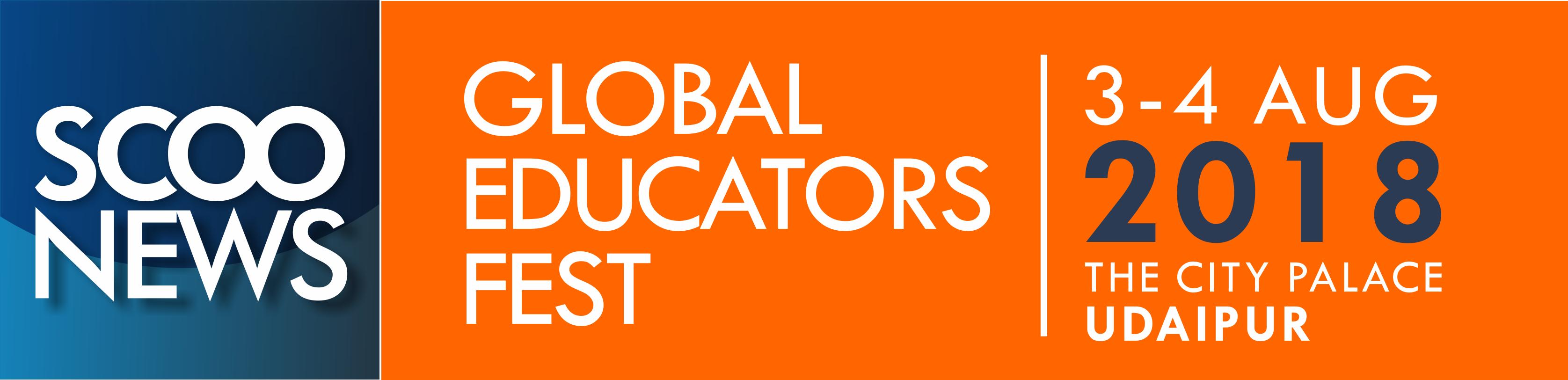 Logo ScooNews Global Educators Fest 2018